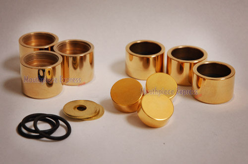 Mouthpiece Express : Curry XXCAPS, Stradivarius (Gold