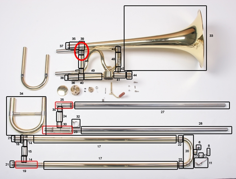 Bach Trombone Parts : Mouthpiece Express
