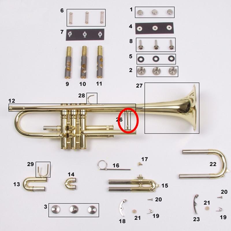 C G  Conn Trumpet Parts : Mouthpiece Express